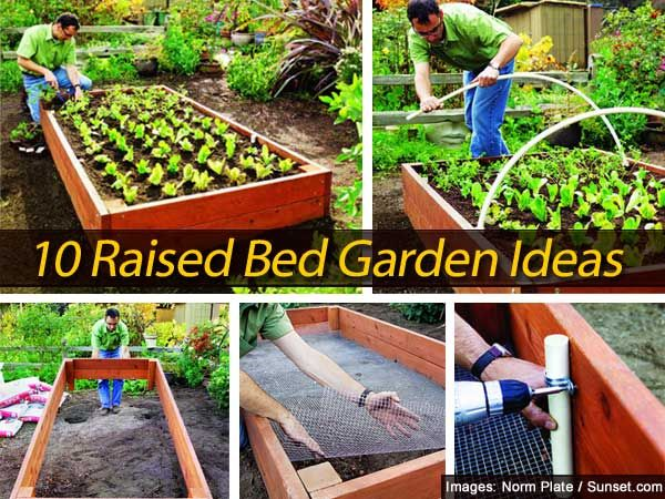 10 raised bed garden ideas garden ideas gardens and plants for Circular raised garden bed ideas