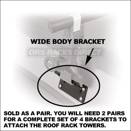 20 Off Sale Yakima Wide Body Brackets For Camper Shells Toppers Caps Etc 8008001 Extra Image 1 Wide Body Bracket Body