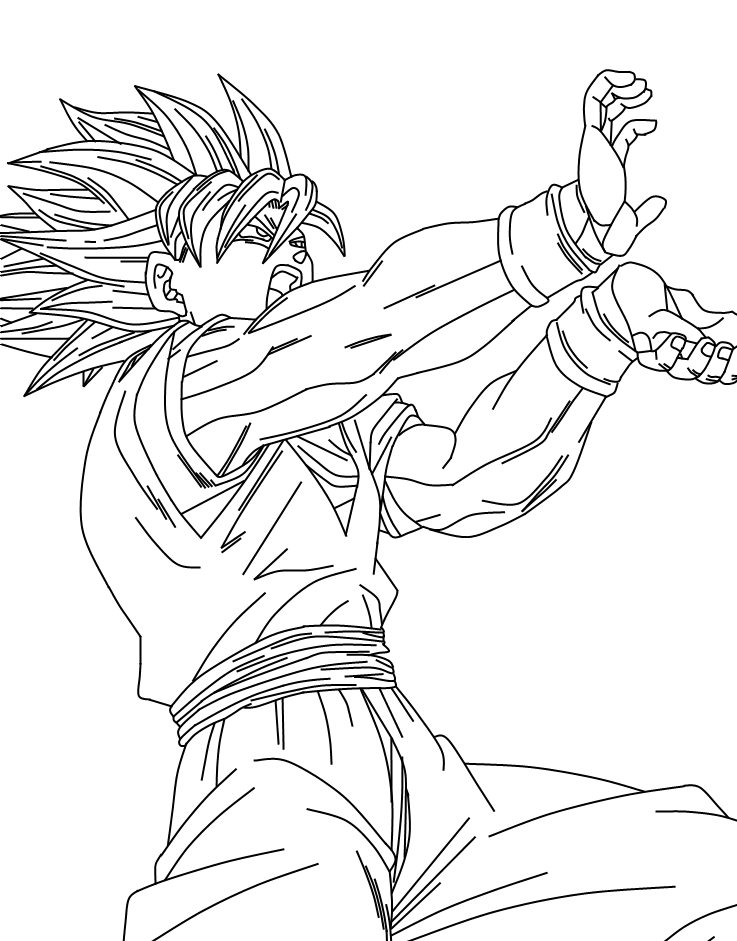 Goku Super Saiyan 2 Dragon Sketch Dragon Ball Super Manga Dragon Ball