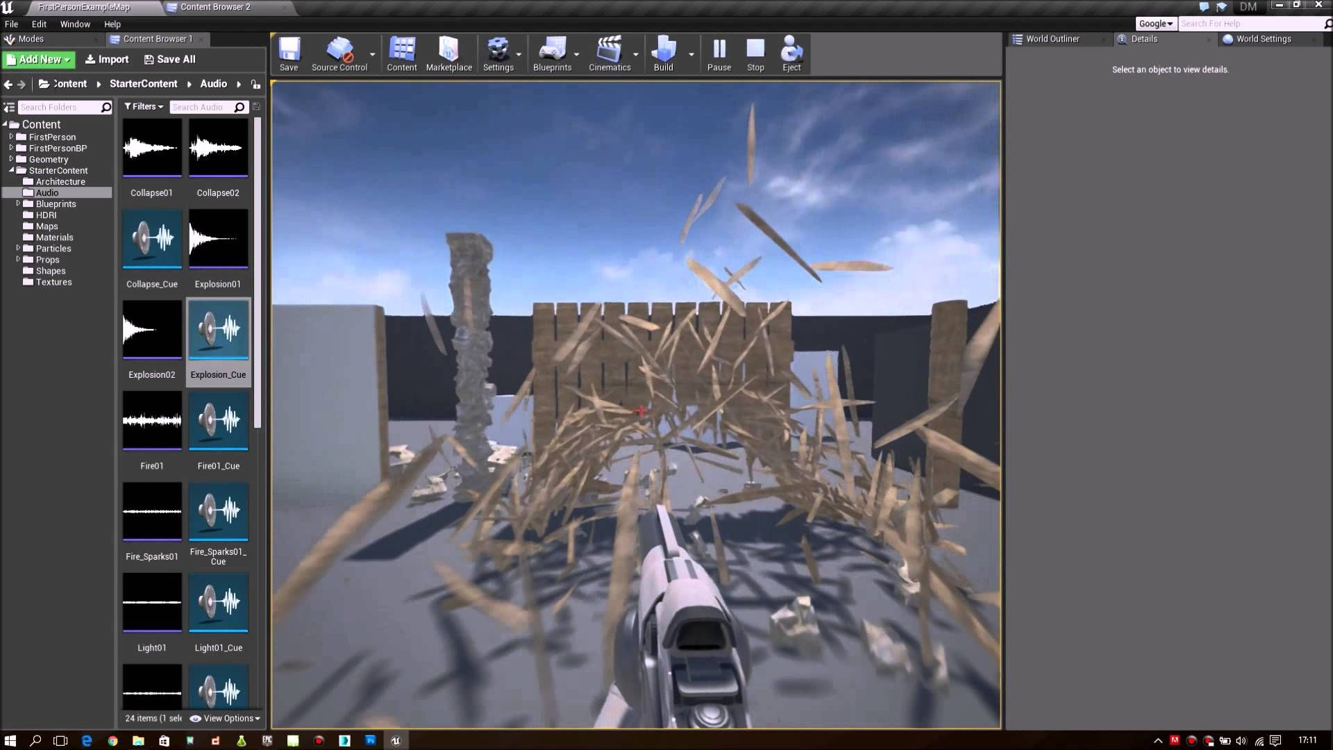 UE4 Destructible Mesh 01 Overview Unreal Engine 4