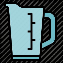 Cup Jar Jug Kitchen Measuring Icon In Icon Company Icon Jugs
