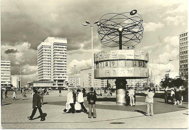 Berlin Alexanderplatz East Germany Berlin East Berlin