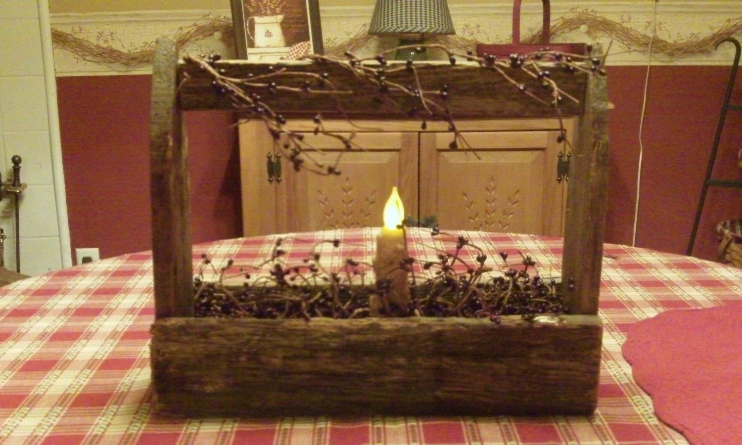 @Jenni Schafran  Country Home Decorating Ideas   Primitive Toolbox   Michelle s Country