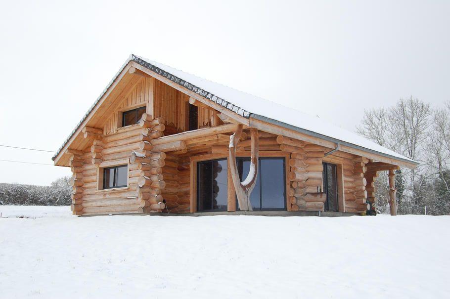 Maison Rondin De Bois Prix En Rondins Chalet Fuste