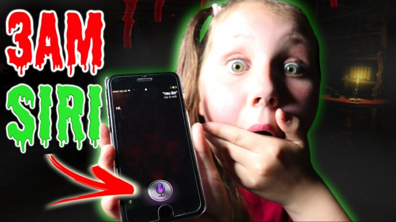 You Guys Could Even Do Challenges Like For Instance Scary Ones Like Siri 3am Youtube Skits Siri Talk