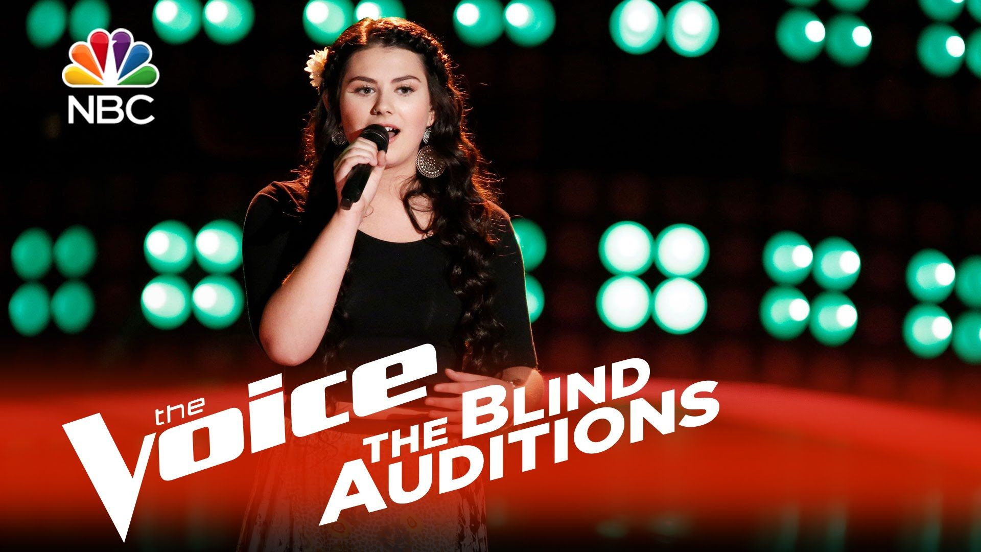 The Voice Blind Audition Brenna Yaeger The House that