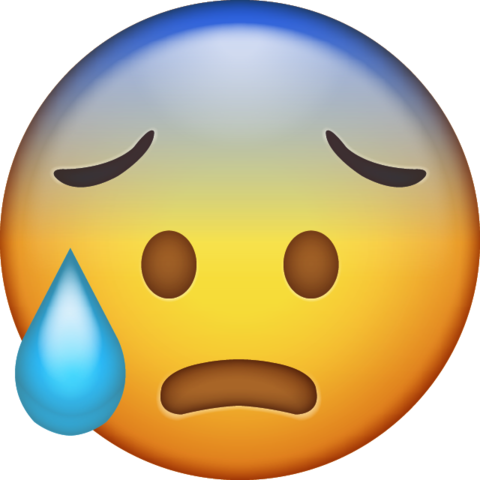 Cold Sweat Emoji Free Download Ios Emojis Emoji Emoji Images Ios Emoji