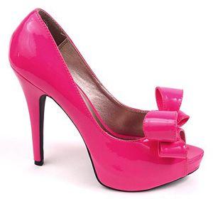 hot pink high heels | fashion | Pinterest | More Pink high heels ...