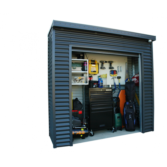 Smartlocker 800 2.4m x 0.8m Portal Frame Colour Roller ...
