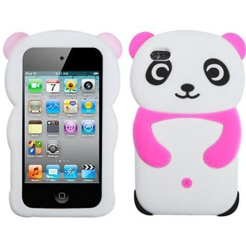 Cute 3D Panda Soft Silicone Case for Apple iPod Touch 4G