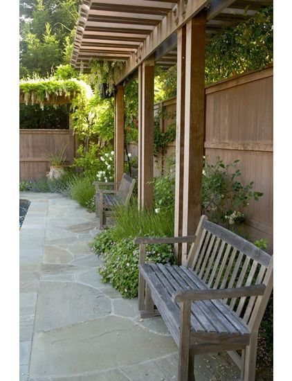 Nice for a side yard | Backyard patio, Pergola, Patio ... on Side Yard Pergola Ideas id=65900