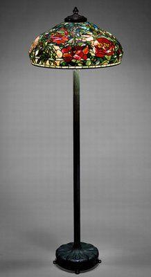 Louis Comfort Tiffany Tiffany Lamp Lampe Verre En Mosaique