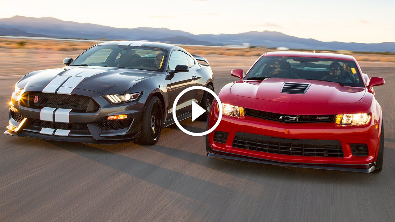 Two Muscle Cars In A Tight Battle! What happens when you take two of ...