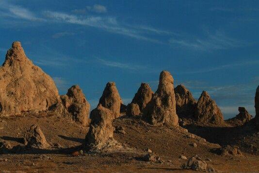 Trona pinnacles/