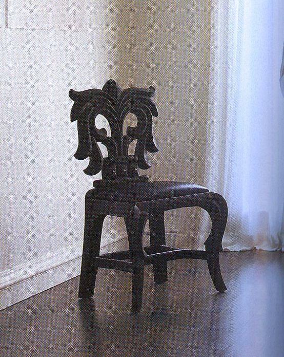 cec97e4cd14 Chrome Hearts Chair