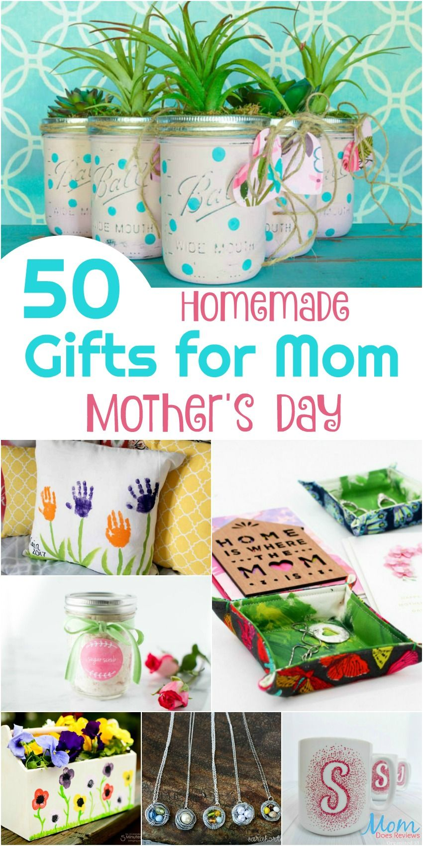 50 homemade gifts for mom on mothers day homemade