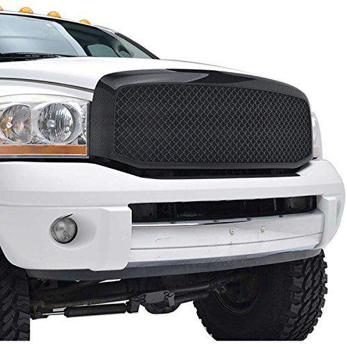 E Autogrilles 06 08 Dodge Ram 1500 Abs Black Carbon Fiber Look Replacement Mesh Grille Grill W Shell 41 0112cf Car Accessories Online Market Dodge Ram 1500 Dodge Ram Dodge