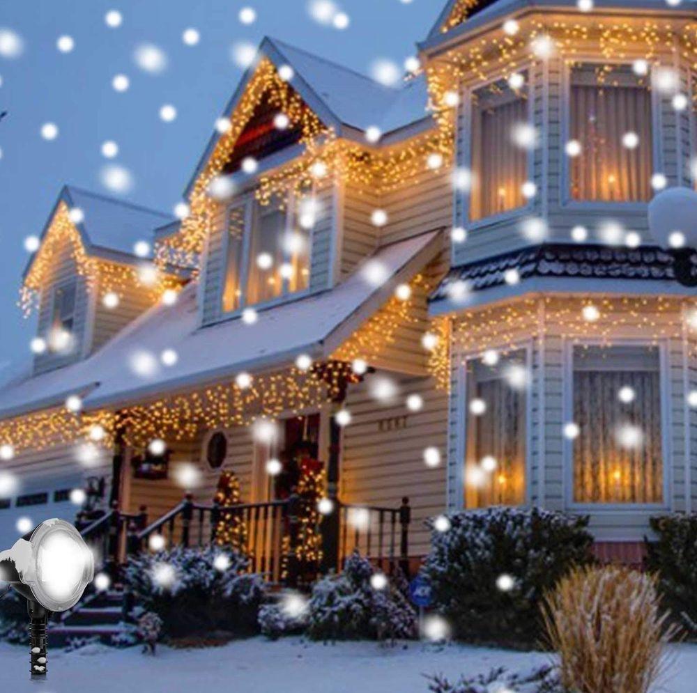 Christmas Snowfall Projector Lights Led
