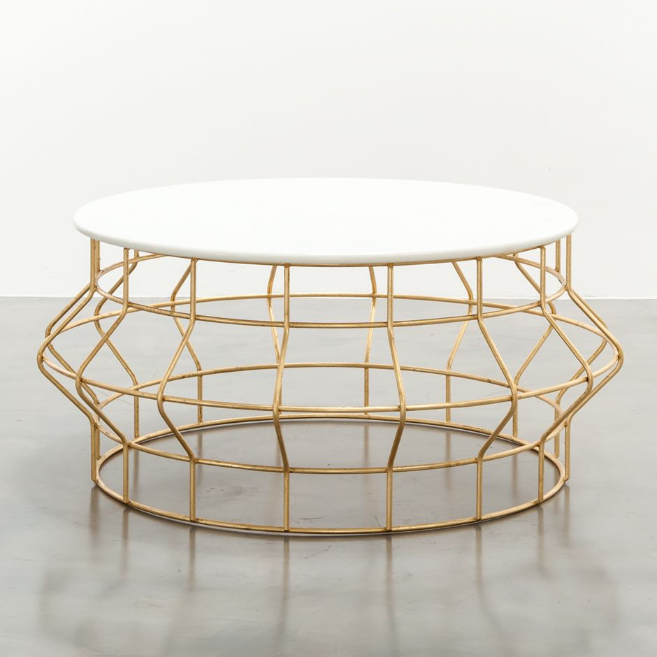 Halston Coffee Table Coffee Table Marble Round Coffee Table Gold Coffee Table [ 940 x 940 Pixel ]