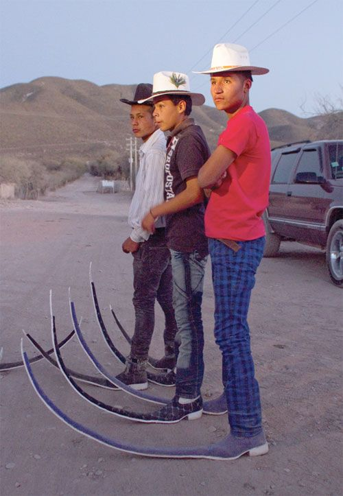 Matehuala, Mexico, where dance crews wear extremely pointy cowboy ...