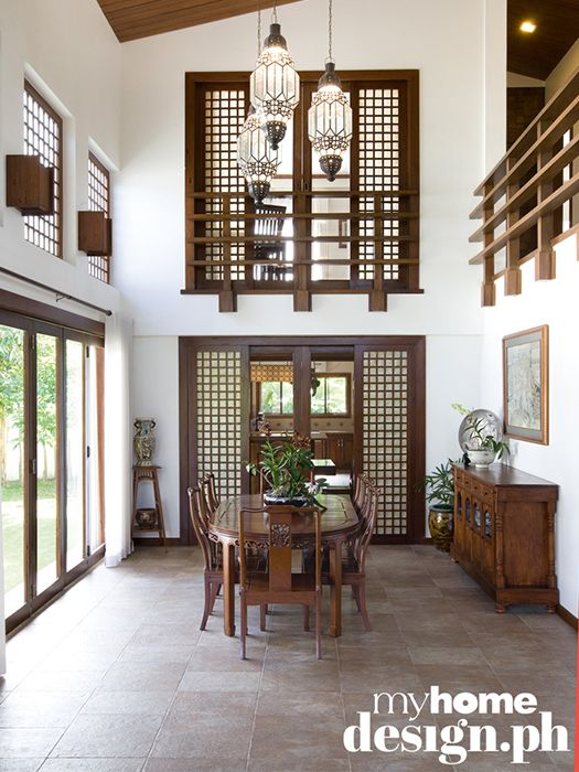 Filipino home styling  luxury great use of capiz also rh co pinterest