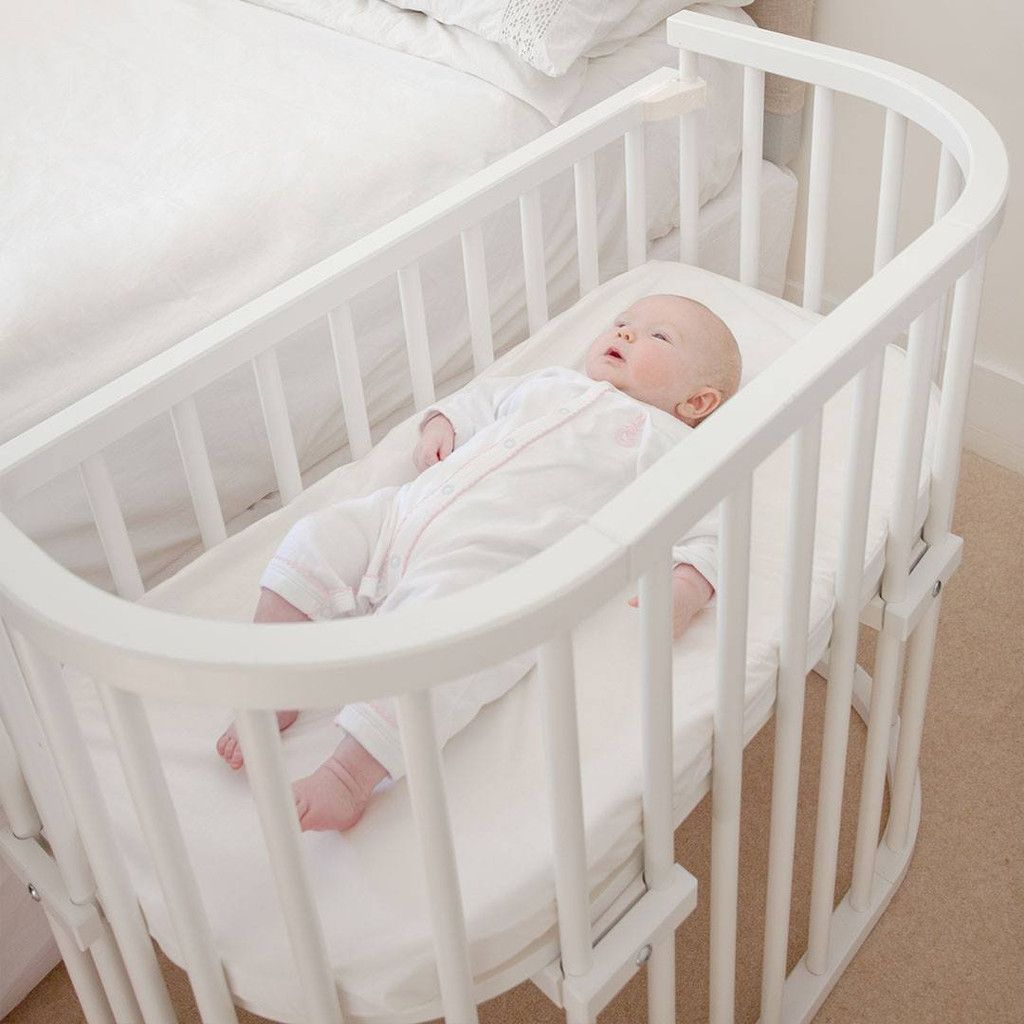 Babybay Co Sleeping Cot White Baby Nursery Baby Cribs Baby Cot