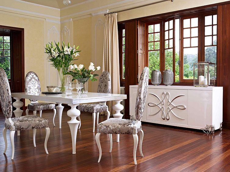 Muebles QUADRATURA arquitectos: Comedor Vilaine - Ambientes ...