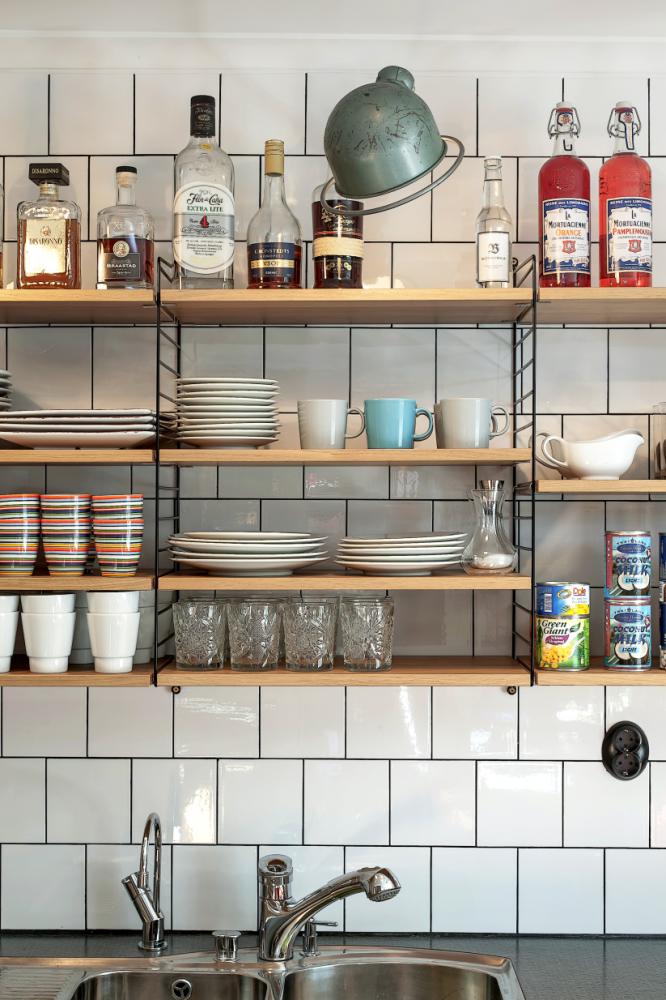 Enchanting Swedish Home With Tantalizing Details Kitchen