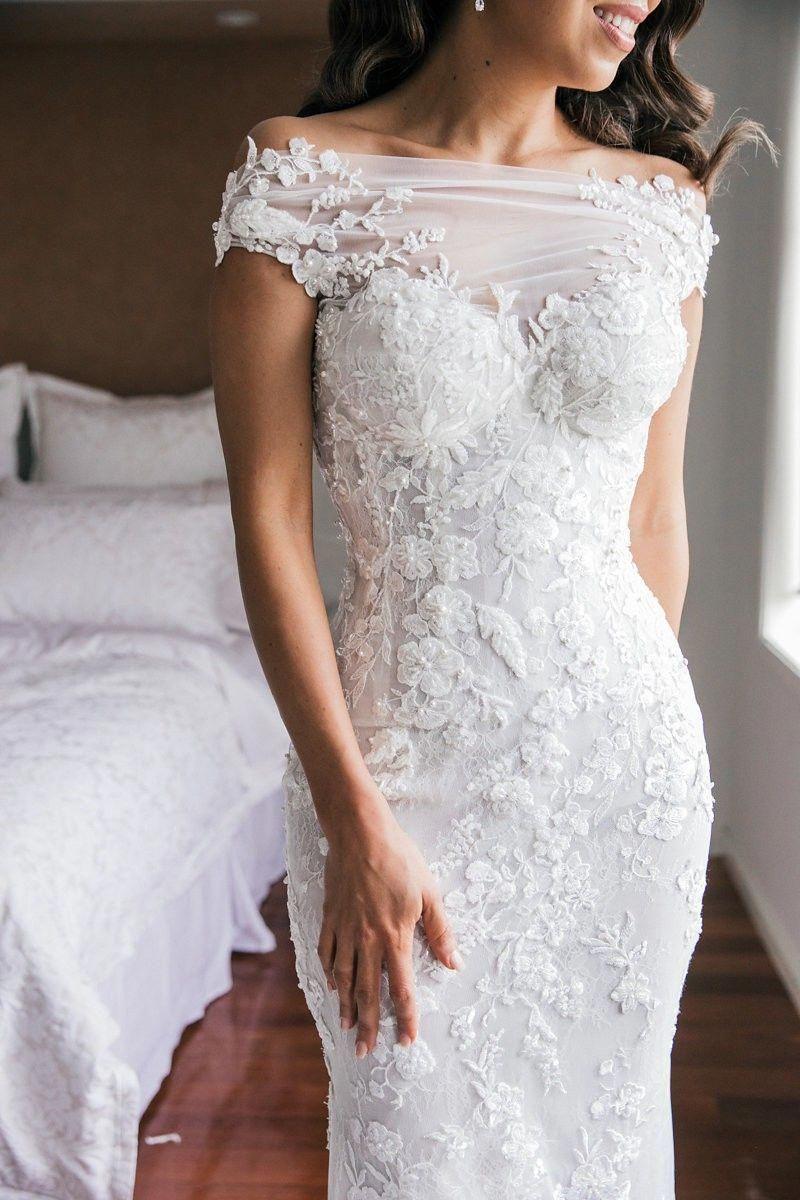 Second hand Steven Khalil Custom Made wedding dress for NZ$20,20 ...
