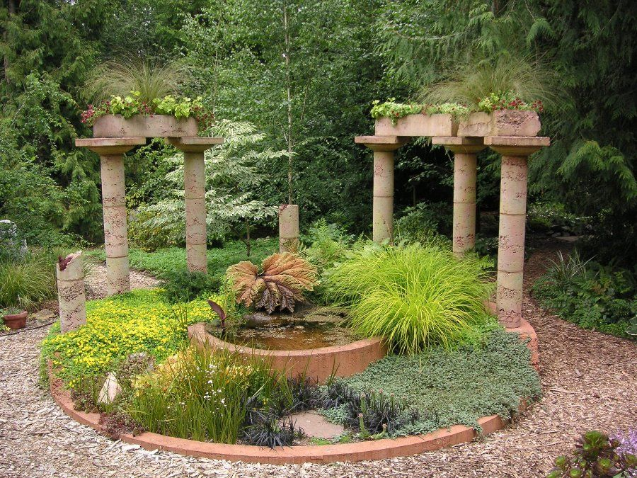 Exceptionnel Mediterranean+Garden+Ideas | Mediterranean Garden Design Ideas » Small Mediterranean  Garden Design .