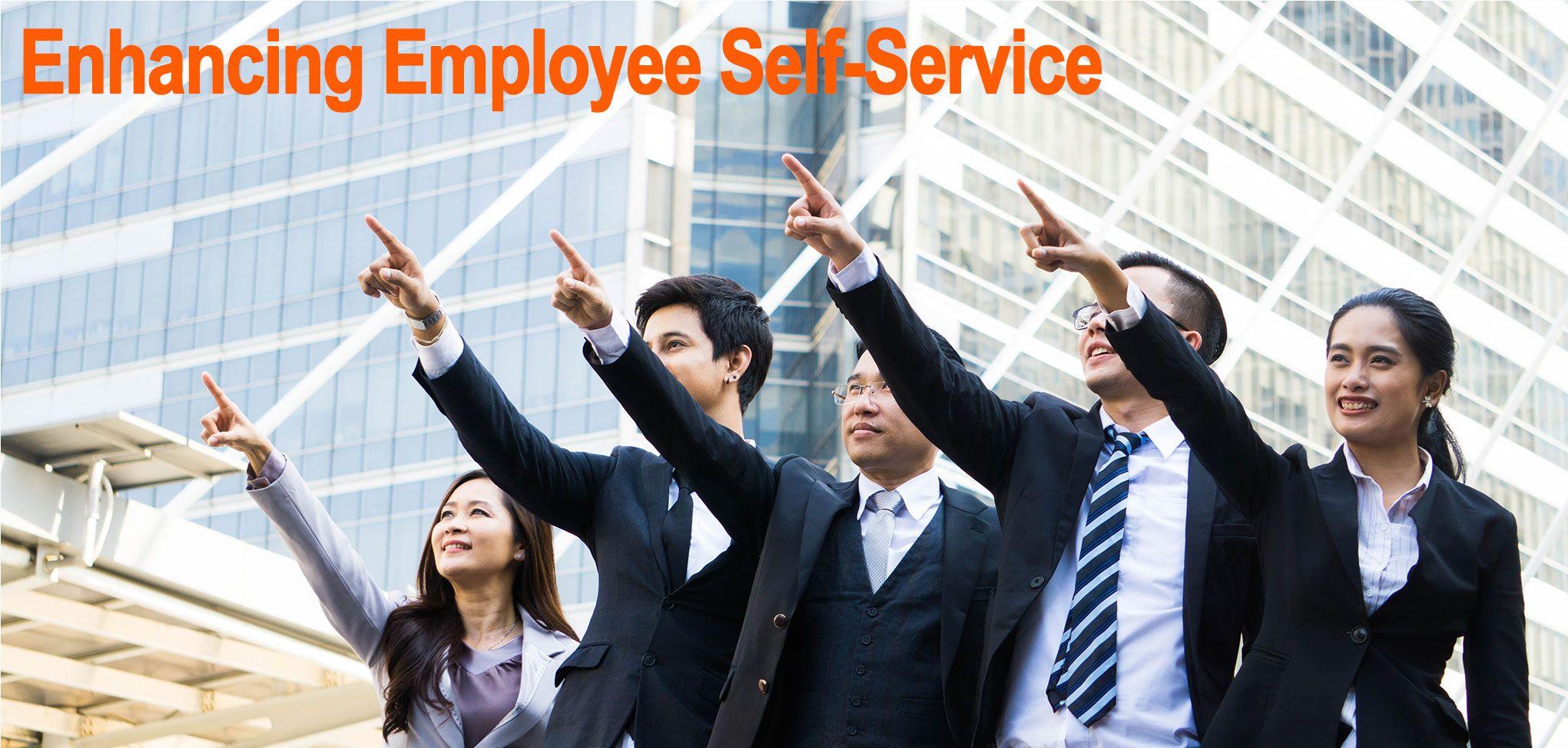 Enhancing employee selfservice through portals employee