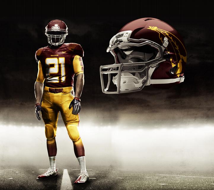 Image result for redskins concept uniforms Nfl uniforms