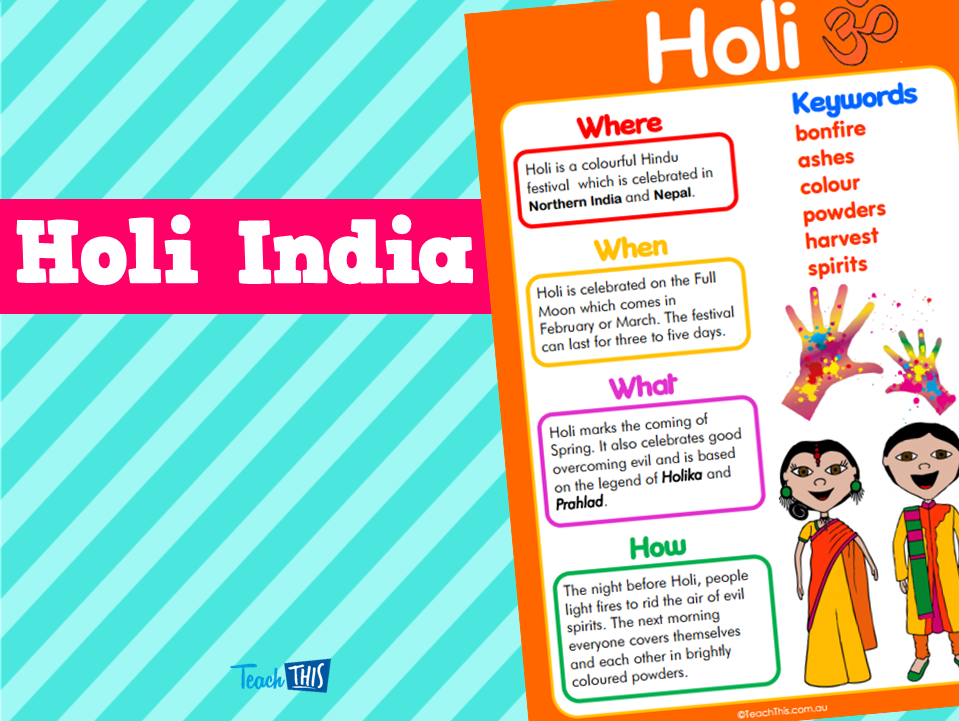 Holi India | HASS | Pinterest | Holi, Curriculum and Homeschool