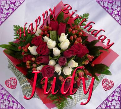 Happy Birthday Judy Images Happy Birthday Judy With Images