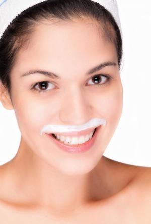 Bleaching Upper Lip Hair Naturally At Home Lighten Hydrogen
