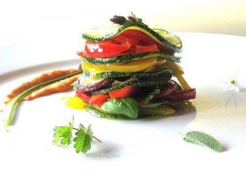 Millefeuille de legumes