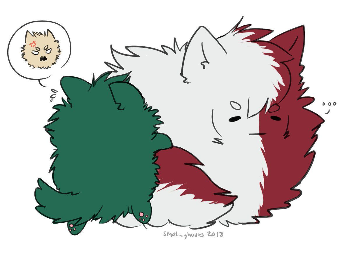 TodoDeku-Just a kiss