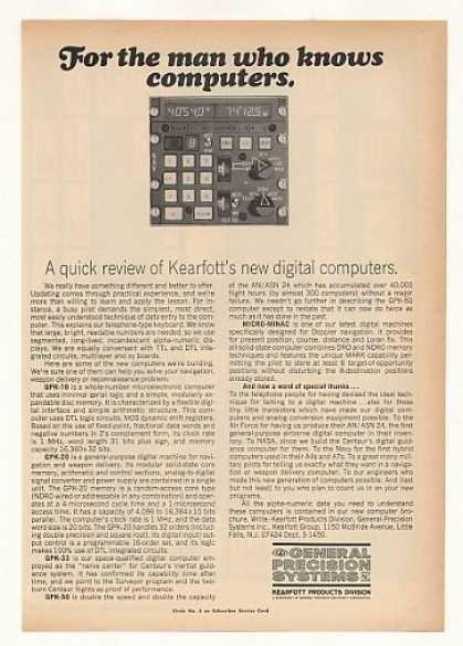 General Precision Systems Kearfott Computers (1967)