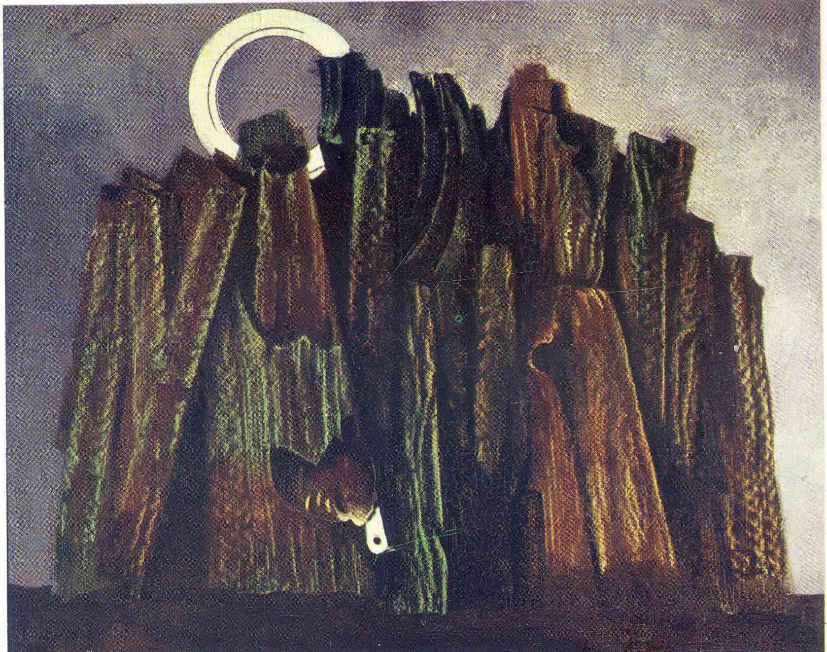 Dark Forest with Dove - Max Ernst