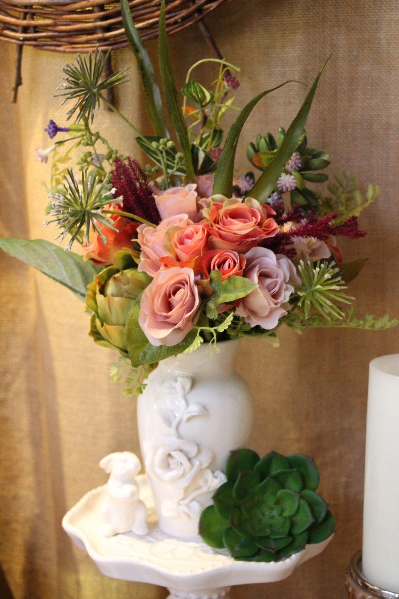 Example Of Whimsical English Garden With Silk Flowers Khimairafarm