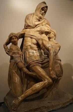 Piet Bandini di Michelangelo Buonarroti museo dell'Opera del Duomo Florence Italy