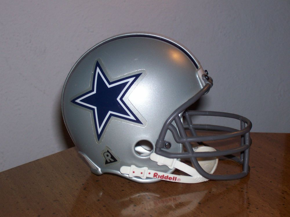 "Vintage Dallas Cowboys NFL Riddell 2 7/8"" Mini Helmet (1995) #DallasCowboys"
