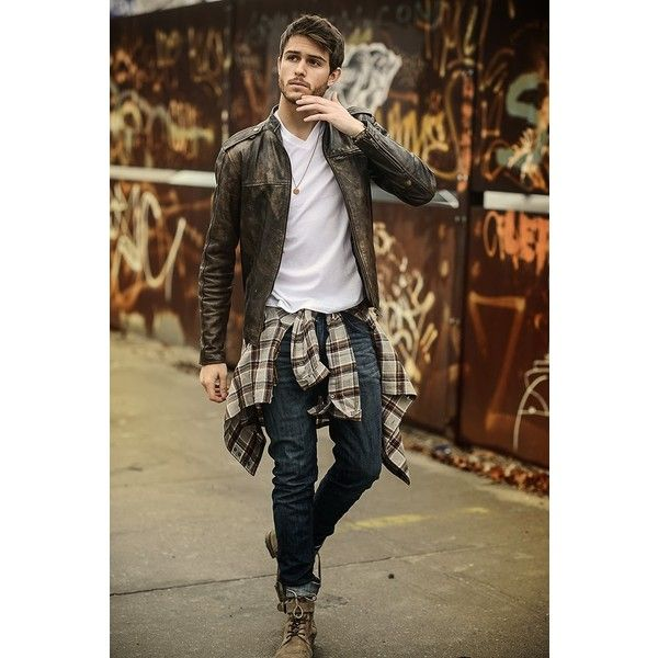 17 Most Popular Street Style Fashion Ideas for Men ❤ liked on Polyvore