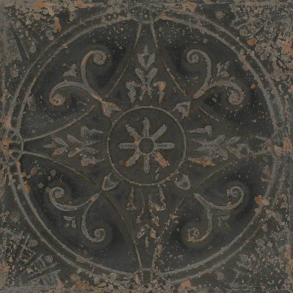 Sajn n 33x33 tiles walls and floors trade finishes pinterest these ceramic pressed pantina steel wall tiles have a metallic look with a striking vintage pattern which is perfect for creating an aged period look in a dailygadgetfo Images