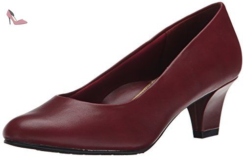 Soft Style by Hush Puppies Gail Femmes US 7.5 Rouge Talons - Chaussures hush puppies (*Partner-Link)
