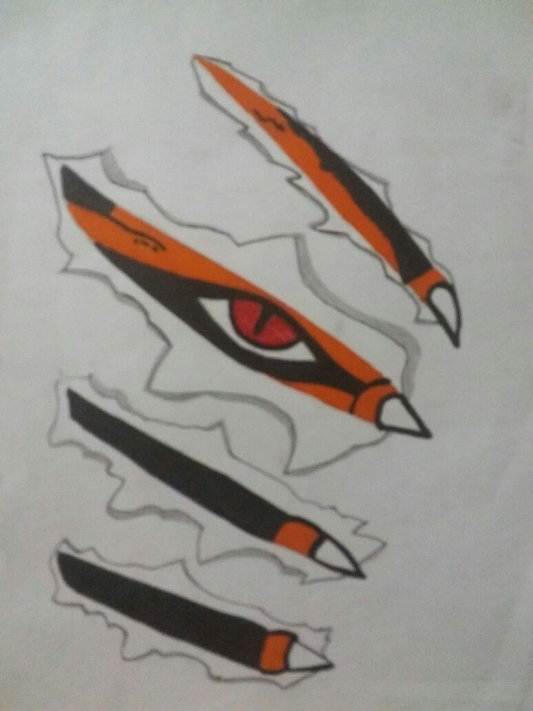 Naruto Nine Tailed Fox Art Naruto Sketch Naruto Drawings Fox