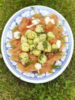 Smoked salmon potato salad fish recipes jamie oliver recipes smoked salmon potato salad fish recipes jamie oliver recipes forumfinder Images