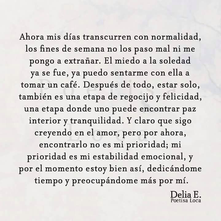 Delia E Frases De Amor Frases De La Vida Y Pensamientos