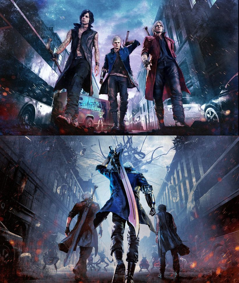Devil May Cry 5: Devil May Cry 5 By Nomada-Warrior
