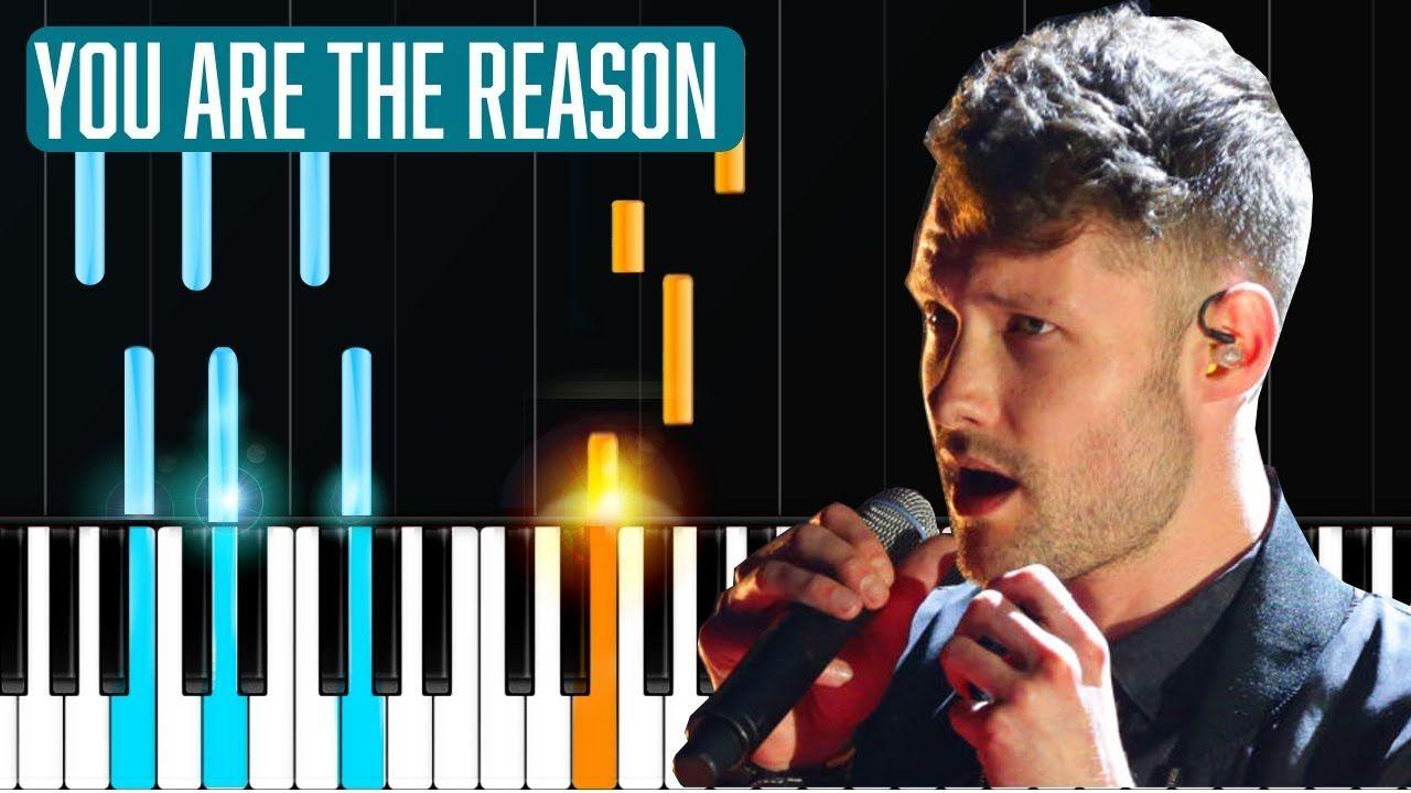 Calum Scott You Are The Reason Piano Tutorial Chords How